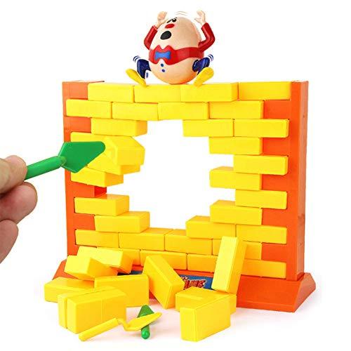 Wall Juego Humpty Dumpty Juguete Lindo Colorido de los niños Demoler Pared de Juego para niños interesantes de Juguetes educativos Juguetes Bloques de Construcción