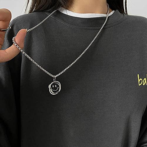 Joyería de plata personalizada para mujer, collar de plata con colgante de cristal para joyería de regalo de cumpleaños,Collar de plata tailandesa de plata esterlina, cadena de clavícula vintage-XL