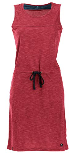 Maul Triberg Fresh Robe fonctionnelle pour femme Rouge piment indigo Taille 46