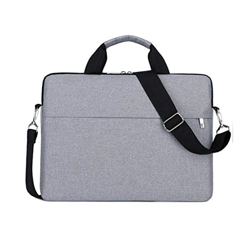 MB-Officestar 13' 15.6' Laptop Handbag Sleeve Case Bag Shockproof Waterproof Durable Gray (14 in)