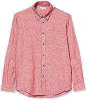 Amazon-Marke: find. Herren Regular Linen Hemd