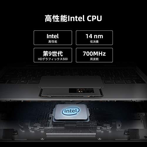 TECLASTF5ノートパソコン11.6インチ、2in1ノートPC、8GBメモリ256GBSSDROM、360°回転式タッチスクリーン、1920*1080IPSディスプレイ、IntelクアッドコアN4100、薄型軽量小型パソコン、オールメタルボディ、Windows10、Type-C、MicroUSB、MicroHDMI