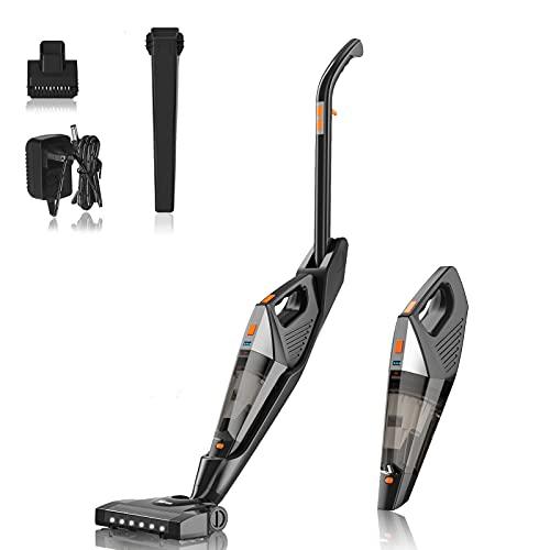 Hikeren Stick Vacuums-Cleaner Cordless-Lightweight-Handheld Powerful - 4 in 1/18kpa/Washable HEPA Filter for Home/Car/Pet Hair/Carpet/Hard Floor