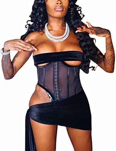 2 piece mesh skirt set _image4