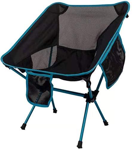Fundamentos silla plegable compacta Ultraligero silla de camping portátil con bolsa de transporte for el senderismo, playa, pesca, al aire libre for trabajo pesado 265 libras de capacidad, Nombre de c