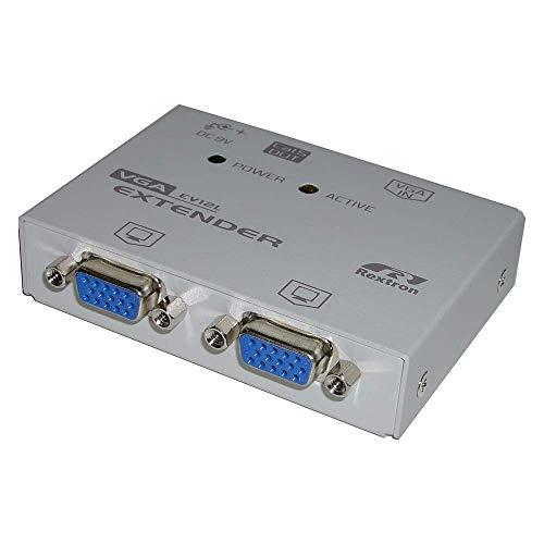 BeMatik - Rextron VGA Extender 1 VGA-IN + 2 VGA-out + 1...