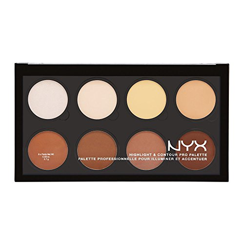 NYX Professional Makeup Paleta de contouring Highlight &