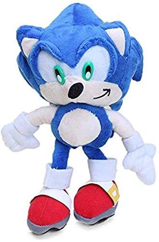 EREL Sonic The Hedgehog 25 cm Super Sonic The Hedgehog y Super Mario Peluche Toy Toy Toys Sonic Shadow Nduckles Tails Lindas Muñecas Rellenas Suaves Dedu