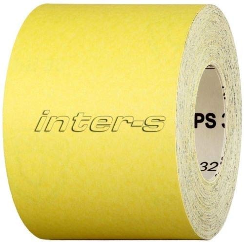 115mm 50m Schleifpapier Rolle Körnung 40-320 Handschleifpapier Schleifmittel (Körnung 80)