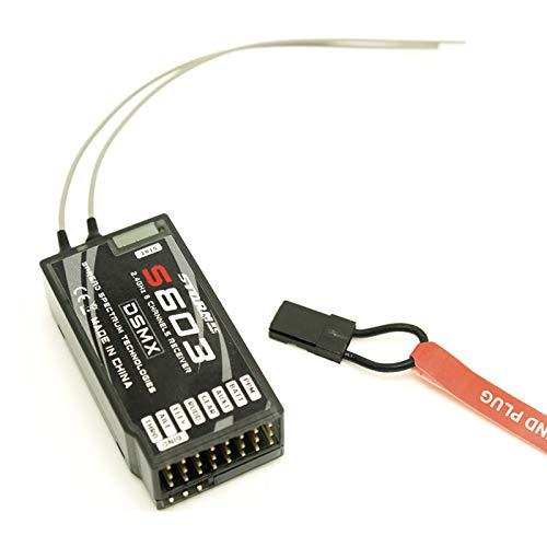 Willowhe S603 2,4 GHz 6-Kanal DSM-X / DSM2 Empfänger für JR / SPEKTRUM