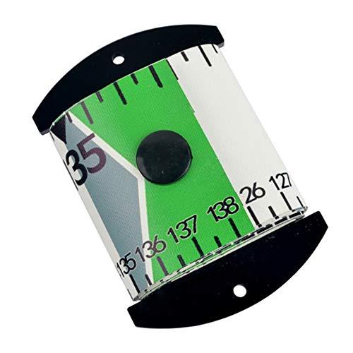 Savlot Angeln Lineal Messung, wasserdicht Fisch Messlineal genaue Fisch Maßband PVC Angeln Lineal Messgerät Werkzeug, 138 cm x 5 cm Fishing Ruler Measurement