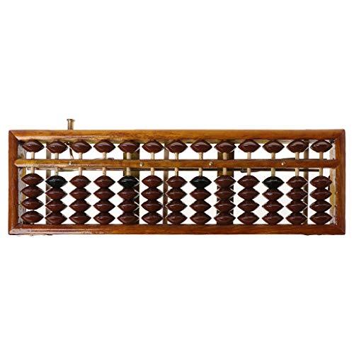Exing Abacus - Abaco portátil de Columna de 13 dígitos Soroban Abacus...