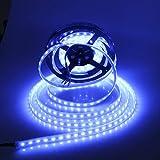 Visdoll 5050 RGBW 4 en 1 LED luz de tira DC12V, MS2 300leds RGB + blanco fresco 4 colores en 1 LED regulable luz flexible de la...