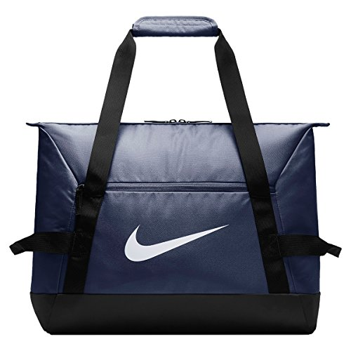 Nike Academy Team S Duff, Borsone Unisex – Adulto, Midnight Navy/Black/White, Taglia Unica