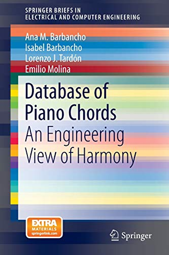 Database of Piano Chords: An Engineering View of Harmony