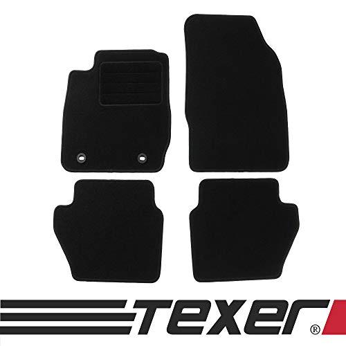 CARMAT TEXER Textil Fußmatten Passend für Ford Fiesta VI Bj. 2008-2011 Basic
