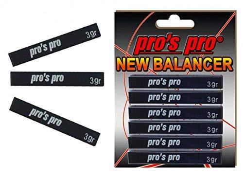 Pro 's Pro New Balancer führen Tape Power Streifen - 18 gr - Tennisschläger Golf Clubs schwarz