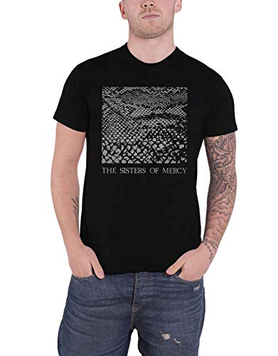 The Sisters Of Mercy T Shirt Anaconda Band Logo Nue offiziell Herren