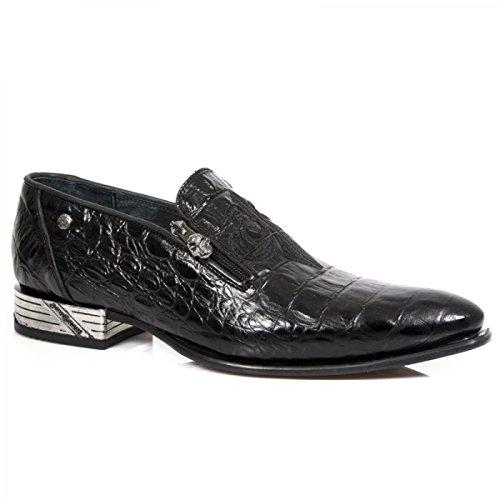 NEW ROCK NEWIDE Zapatos Bajos Hombres Negro - 40 - Derbie