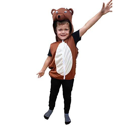 Bodysocks Fancy Dress Kinder Igel Kostüm