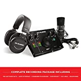 M-Audio - Complete Recording Bundle - USB Audio Interface, Microphone, Shock mount, Cable,...