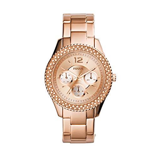 Reloj Fossil Stella para Mujer 38mm, pulsera de Acero Inoxidable