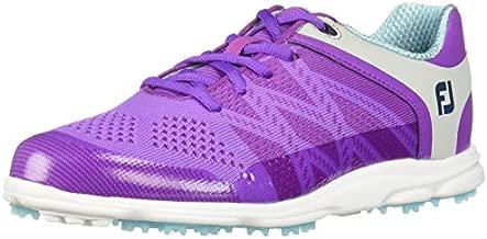 FootJoy Women's Sport SL-Previous Season Style Golf Shoes Purple 7 M Light Blue, US
