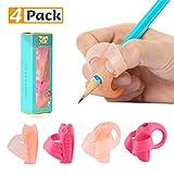 HOMEWINS 4Pcs Guide Doigt Enfant, Pencil Grips pour Crayon Support...