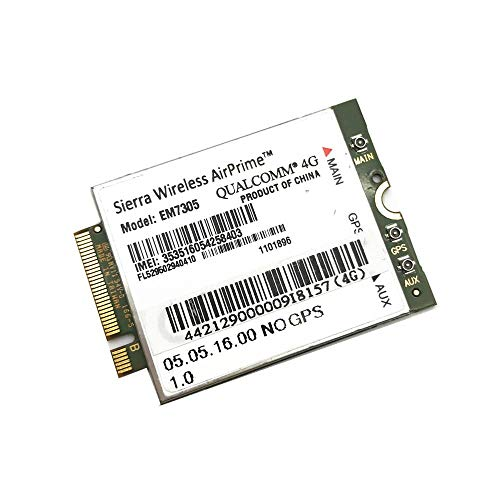 Miwaimao Sierra Wireless EM7305 Gobi5000 M.2 NGFF 4G 100Mbps LTE WWAN Card Module for DELL Venue 11 Pro