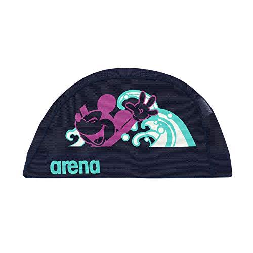 アリーナ (arena) スイミング用メッシュキャップ ディズニー パワーネット ネイビー Sサイズ DIS-0358