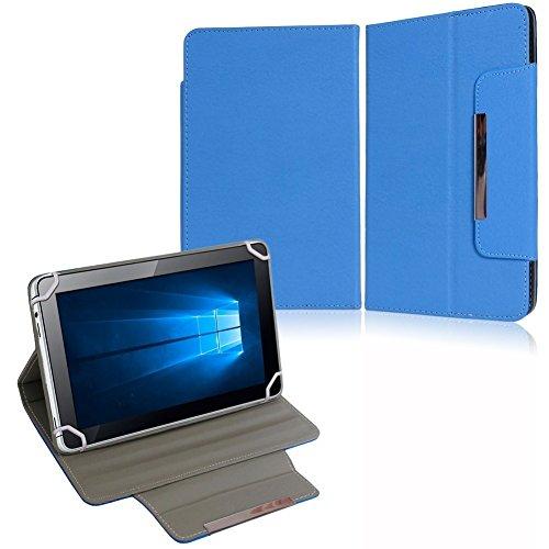 NAUC Tasche Hülle Schutzhülle für HP Pro Slate 8 Hülle Schutz Cover Schutzhülle, Farben:Blau