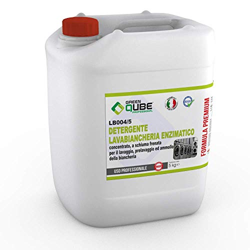 lb004/5 - detergente professionale lavabiancheria enzimatico. 5LT
