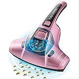 SCDSRQ Mite Mite Remover Enlèvement Instrument de ménage Lit Mite Retrait Aspirateur UV stérilisation Atelier d'usinage Mite Removal Machine (Color : Pink)