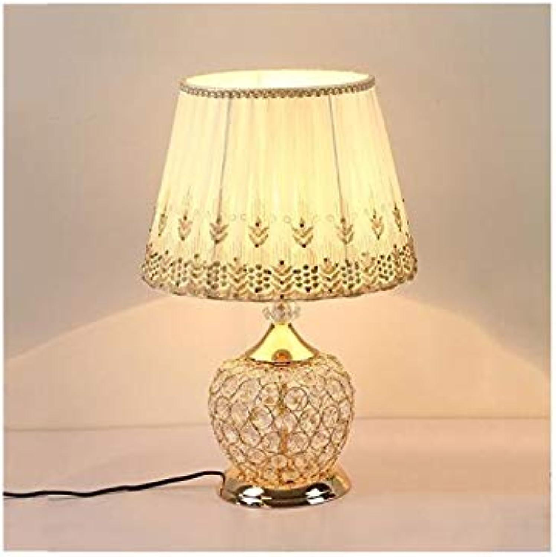 Led Licht Postmodern Luxurise Kristalleisentischlampe 46 Cm Hohe Elegante Kristall Schreibtisch Licht
