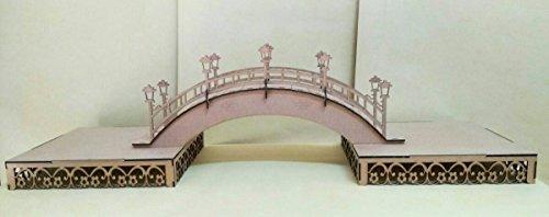 Kit para hacer bandejas + puente de madera DM para candy bar mesa dulce. Manualidades con madera