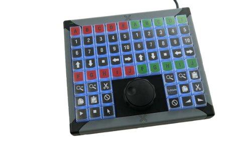 X-Key-68 Tastatur Jogshuttle, USB, frei programmierbar (XK-68, xkey-68))