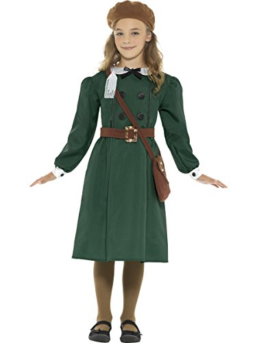 Smiffys WW2 Evacuee Girl Costume