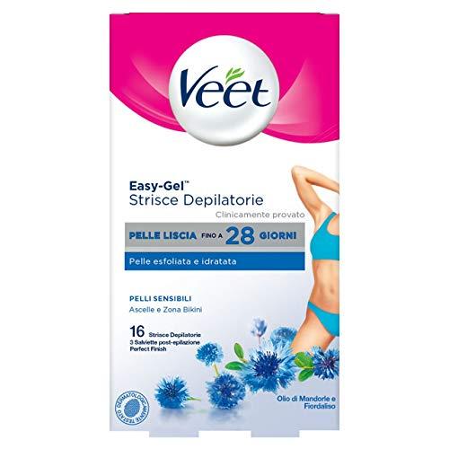Veet Strips for Sensitive Skin - 16 Pieces