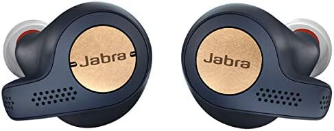 Jabra Elite Active 65t Earbuds – True Wireless Earbuds with Charging Case, Copper Blue – Bluetooth Earbuds with a Secure...