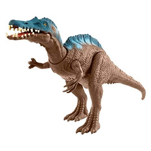 Jurassic World GMC97 - Brüll-Attacke Irritator, bewegliche Dinosaurier-Actionfigur, realistisch klingende Geräusche, Spielzeug ab 4 Jahren