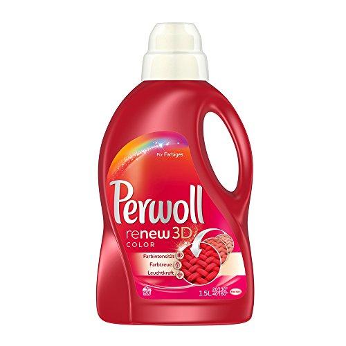 Perwoll wasmiddel voor gekleurd & fijn, vloeibaar, 20WL