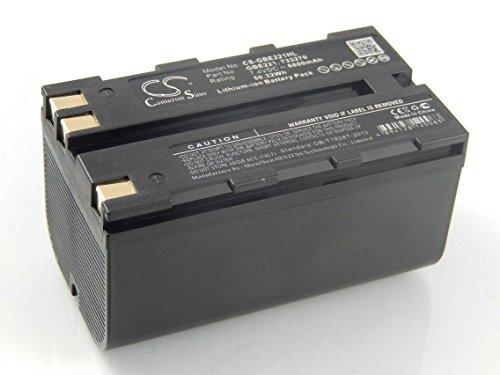 vhbw Li-Ion Akku 6800mAh (7.4V) für Laser Kamera Geomax Zenith 10, 20, 25 wie 724117, 733269, GEB90.