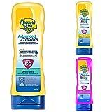 Banana Boat Crema Solar Bundle de Familia (Crema) Bebé, Niño Y Adulto Advanced Protection