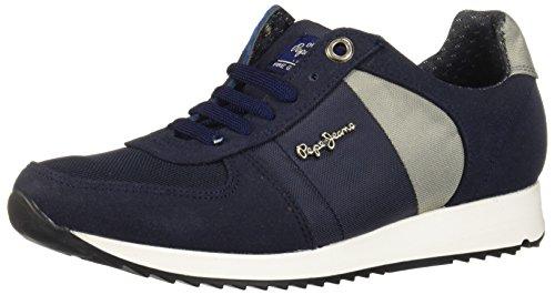 Pepe Jeans Milena BC014-C Zapatillas de Tenis para Mujer, Color Azul Marino, 22