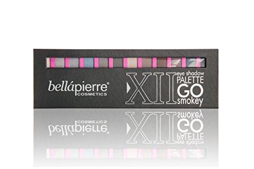 bellapiarre Cosmetics 12Eyeshadow Palette–Go Smokey, 1er Pack (1X 14G)
