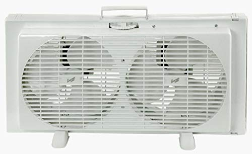 Comfort Zone CZ319WT Portable Twin Window Fan, 9'
