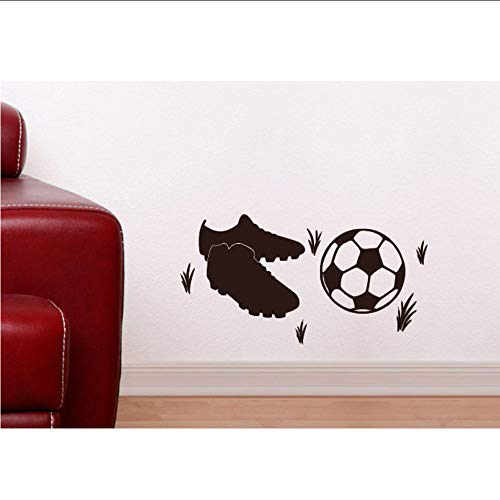 Txyang Sneakers And Football Removable High Waterproof Wall Paper Stickers Creative Boy For Room Decoration