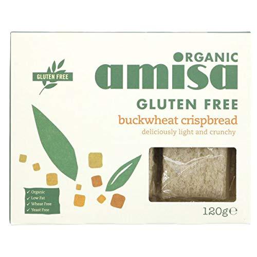 free Amisa Organic - Gluten Purchase Crispbread Buckwheat Free 150g