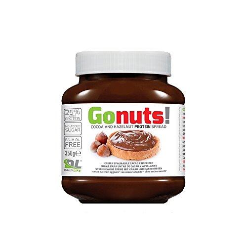 Daily Life Gonuts - Cioccolata Spalmabile di Cacao e Nocciole - Con il 25% di Proteine del Siero...