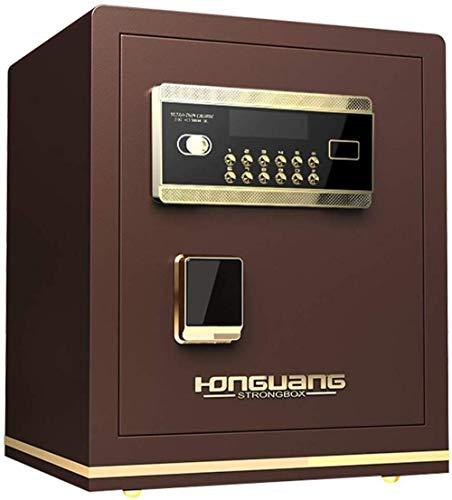 Tresore Safes - Cassaforte digitale per la casa con tastiera e pulsante di copertura manuale, adatto per familiari o in viaggio, 38 x 33 x 45 cm